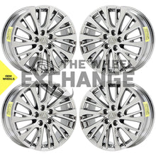 "Load image into Gallery viewer, 18"" Lexus ES350 PVD Chrome wheels rims Factory OEM set 74376 EXCHANGE"