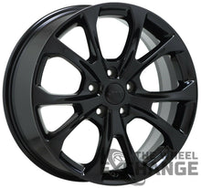 "Load image into Gallery viewer, 20"" Jeep Grand Cherokee Summit Black wheels rims Factory OEM 2019 2020 set 9212"