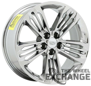 "20"" Cadillac CT6 XTS PVD Chrome wheels rims Factory OEM set4 96227 - EXCHANGE"