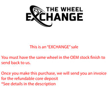 Load image into Gallery viewer, 20x8 20x9 Camaro SS black wheels rims Factory OEM GM set 4 5443 5445 Exchange
