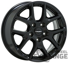 "Load image into Gallery viewer, 17"" Chrysler Pacifica black wheels rims Factory OEM set 4 2592"