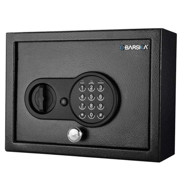 Barska 0.21 Cubic Ft Top Opening Keypad Security Safe AX12622