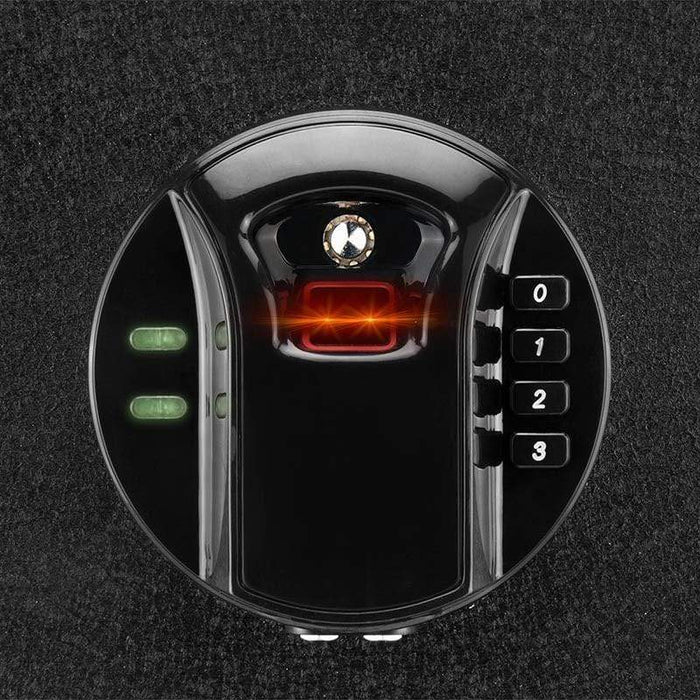 Barska 0.46 Cubic Ft Biometric Keypad Security Safe AX12476