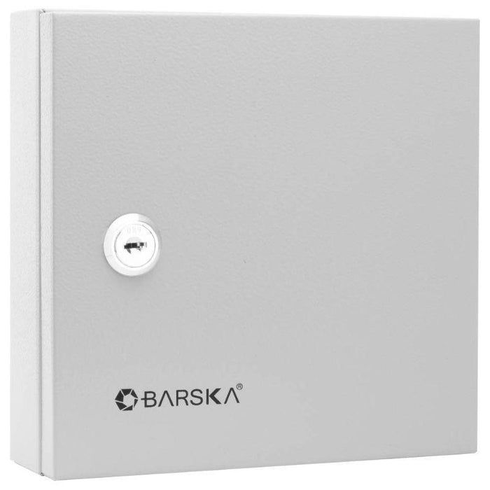 Barska 10 Keys Lock Box w/ White Tags, Grey CB13362