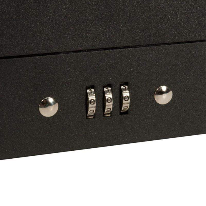 "Barska 17"" Cash Box 4 Bill Holder and 6 Compartment Tray with Combination Lock CB11794"