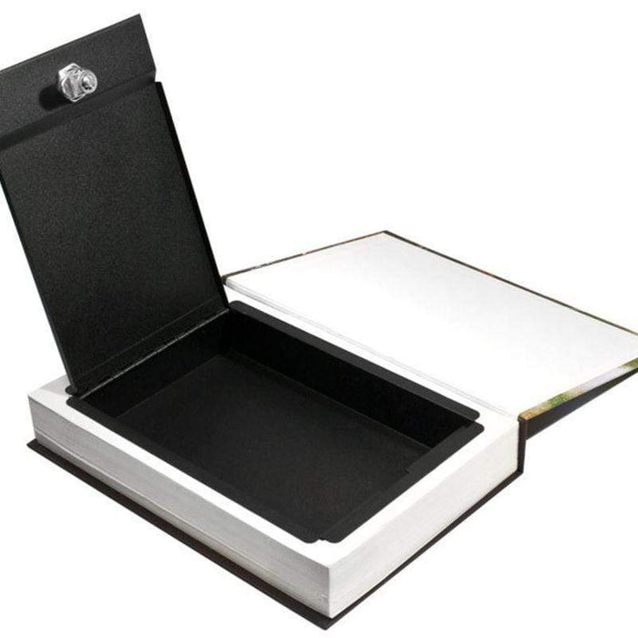 Barska Real Paper Book Lock Box with Key Lock AX11682