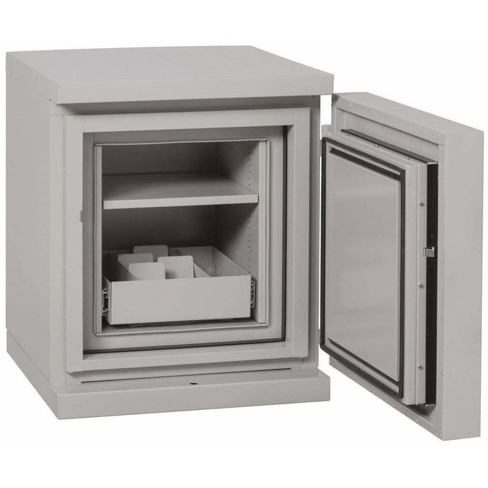 Fireking 1.3 Cubic Foot 1 hour Fire and Impact Rated Data Safe DS1513-1 Interior