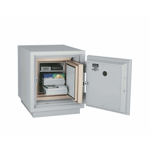 Fireking 1.5 Cubic Foot 3 Hour Fire and Impact Rated Data Safe DM1413-3 Interior