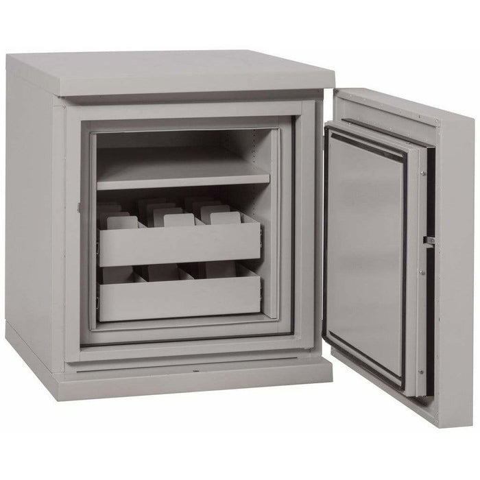 Fireking 2.8 Cubic Foot 1 Hour Fire and Impact Rated Data Safes DS1817-1 Interior
