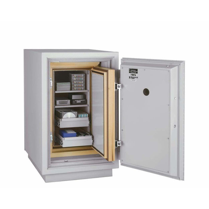 Fireking 4.4 Cubic Foot 3 Hour Fire and Impact Rated Data Safe DM2520-3 Interior
