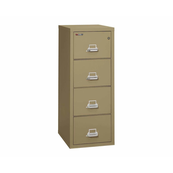 FireKing 4 Drawer Legal Width Vertical Filing Cabinet 4-2125-C Specification 1