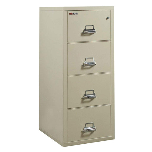 FireKing 4 Drawer Legal Width Vertical Filing Cabinet 4-2125-C Specification