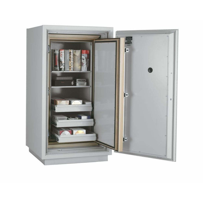 Fireking 7.9 Cubic Foot 3 Hour Fire and Impact Rated Data Safe DM4420-3 Interior