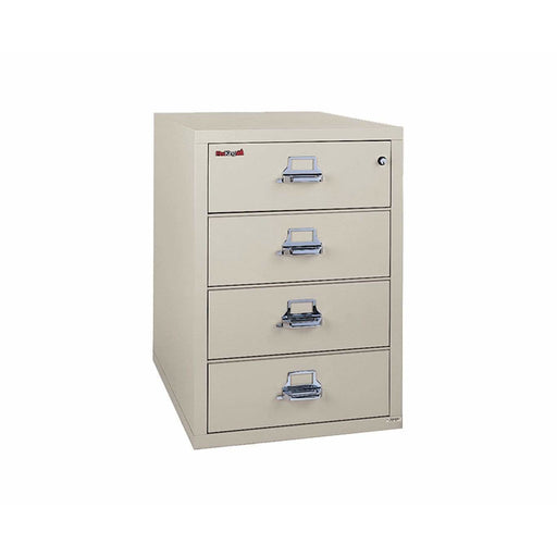 "Fireking Four Drawer 31.5"" Deep Card File 4-2536-C"