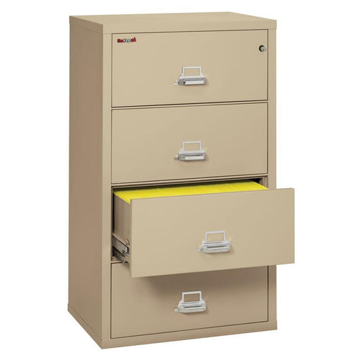 "Fireking Four Drawer 31"" Wide Lateral File Cabinet 4-3122-C"