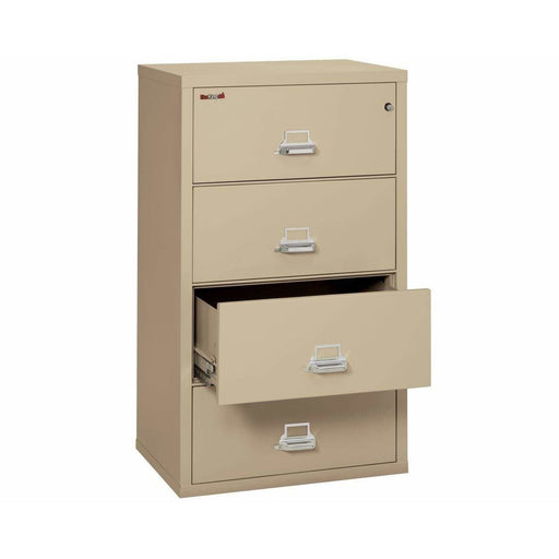 Fireking Four Drawer 38' Wide Lateral File Cabinet 4-3822-C Feature
