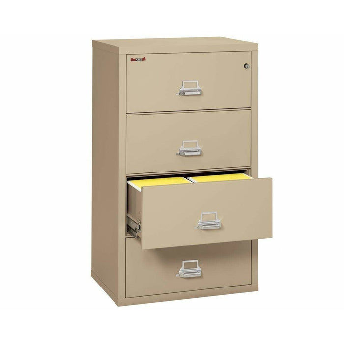 Fireking Four Drawer 38' Wide Lateral File Cabinet 4-3822-C Specification