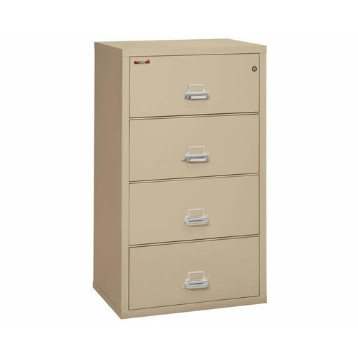 Fireking Four Drawer 38' Wide Lateral File Cabinet 4-3822-C