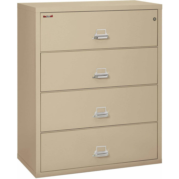"FireKing Four Drawer 44"" Wide Lateral File Cabinet 4-4422-C"