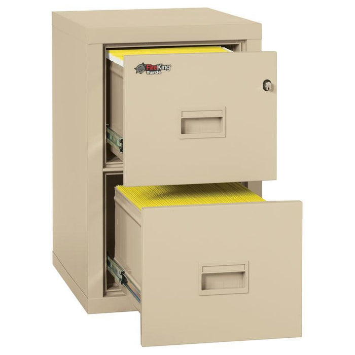 FireKing Turtle Fire File Cabinet 2R1822-C Interior