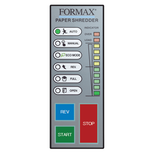 Formax Office Shredder, High-Security P7 / Level 6, Cross-Cut FD 8500HS
