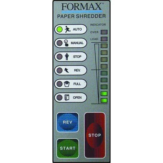 Formax Office Shredder, High-Security P7 / Level 6, Cross-Cut, Includes Automatic Oiling System FD 8400HS-1