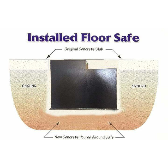 Hollon In Ground Floor Safe B6000