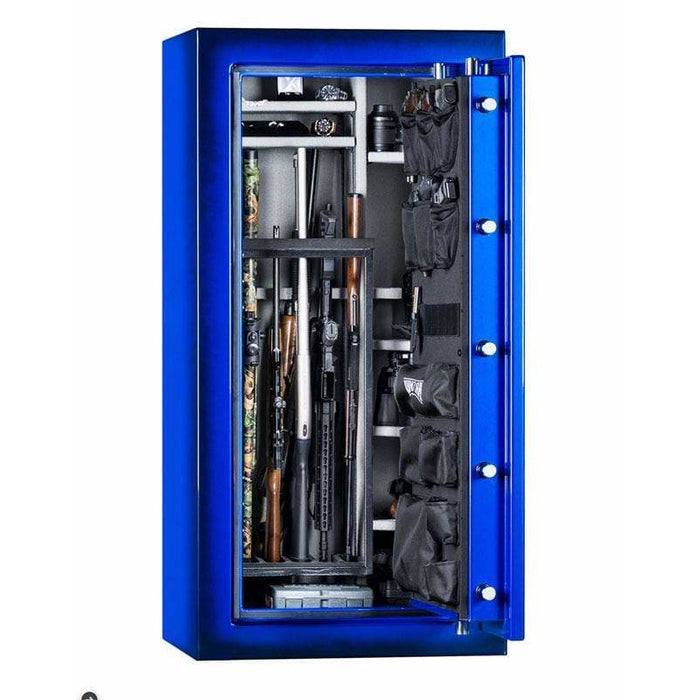 Rhino CD Series 80 Minute Fireproof Gun Safe CD6030XGL-BLUE