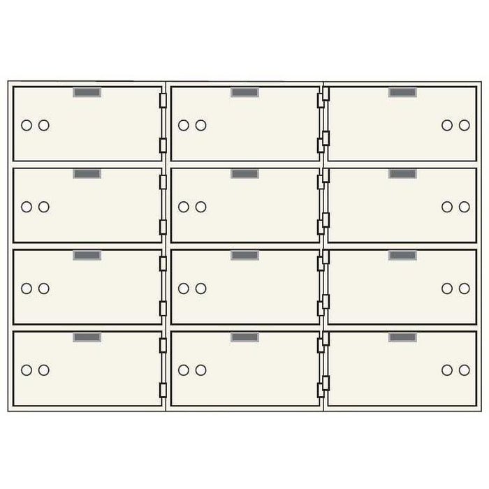 Socal Safe AX Series Deposit Boxes AX-12