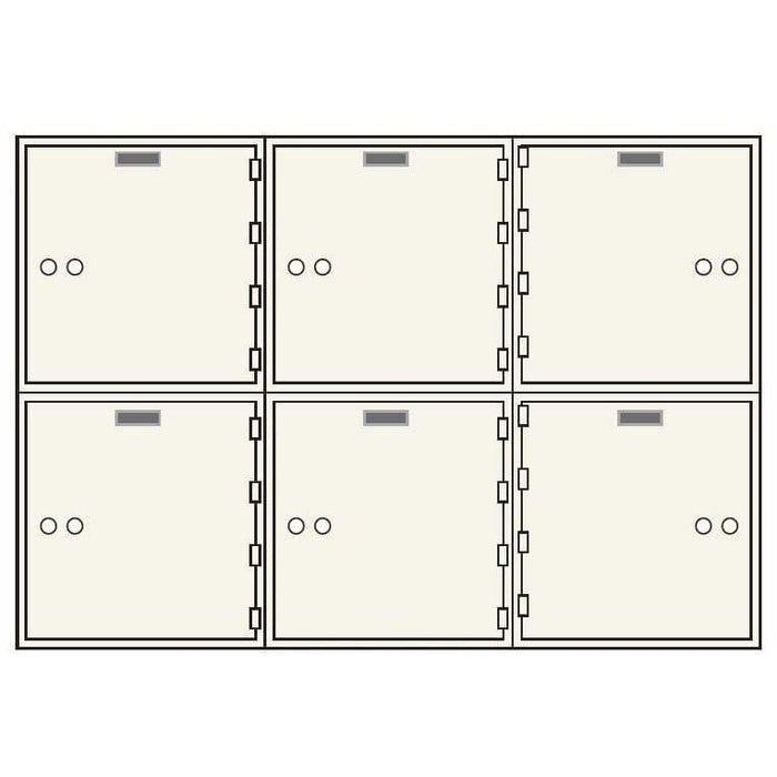 Socal Safe AX Series Deposit Boxes AX-6