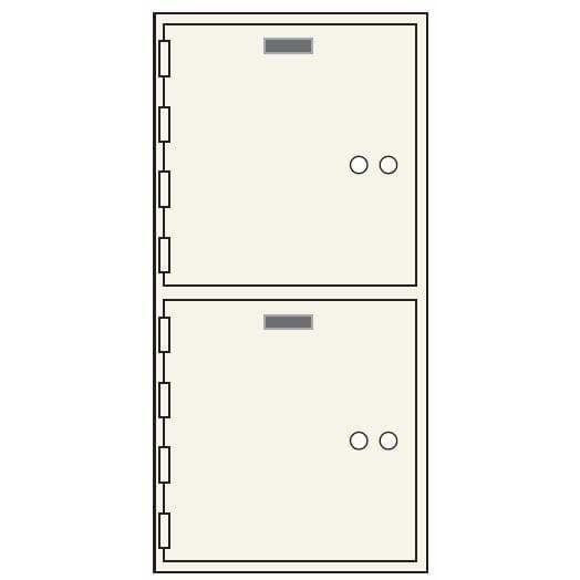 Socal Safe AXN Series Deposit Boxes AXN-2