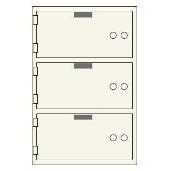 Socal Safe SDXN Series Deposit Boxes SDXN-3