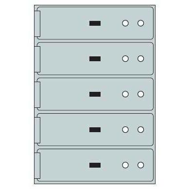 Socal Safe ST Series Deposit Boxes ST-5