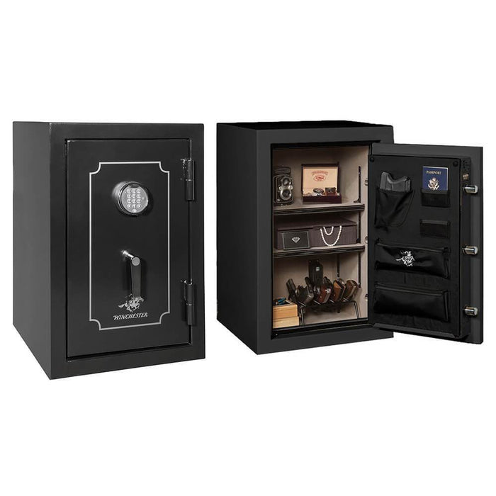 Winchester Home 7 Black Burglary Safe H3020-7-7E