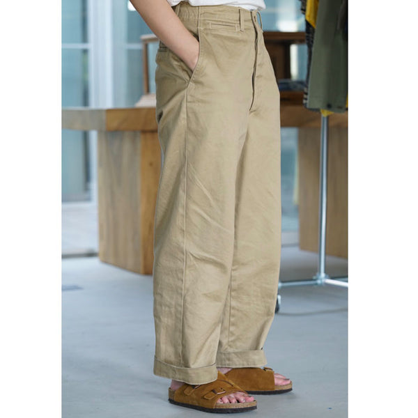 VINTAGE FIT ARMY TROUSERS