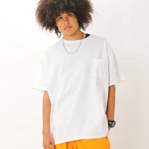 S/S CREW POCKET TEE BIG