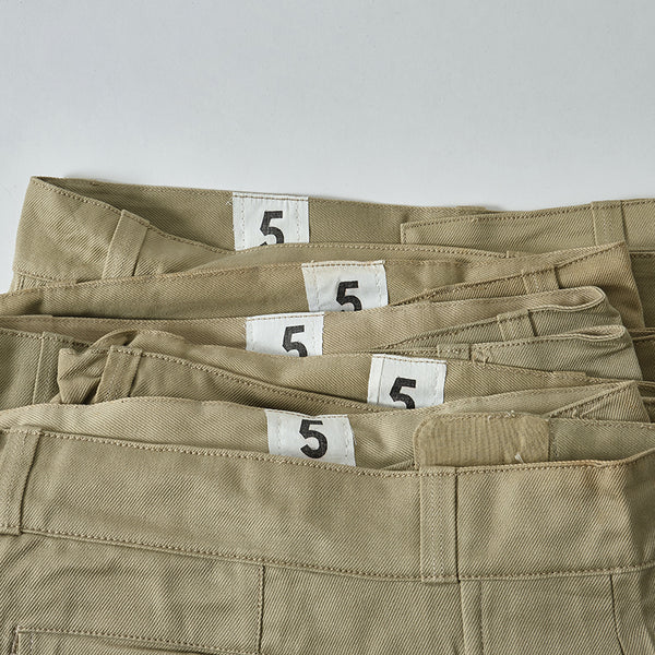 DEAD STOCK FRENCH ARMY CHINO SHORTS