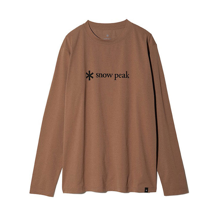 MOUNTAIN OF MOODS PRINT LOGO L/S TEE