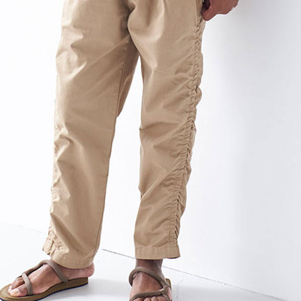 "SIDE SHIRRING TROUSERS ""MAX"""
