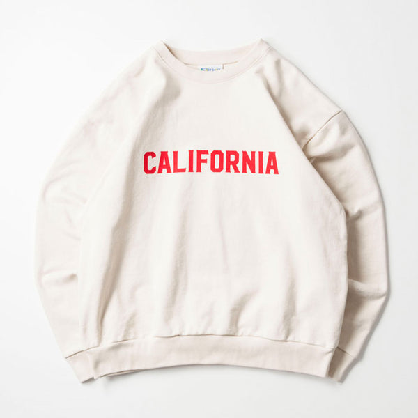 CALIFORNIA CREW NECK