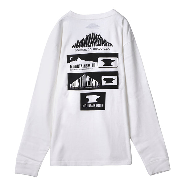 "L/S POCKET LOGO T-SHIRT ""MS History long"""