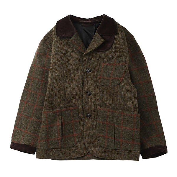 TWEED 3 LAYER JACKET