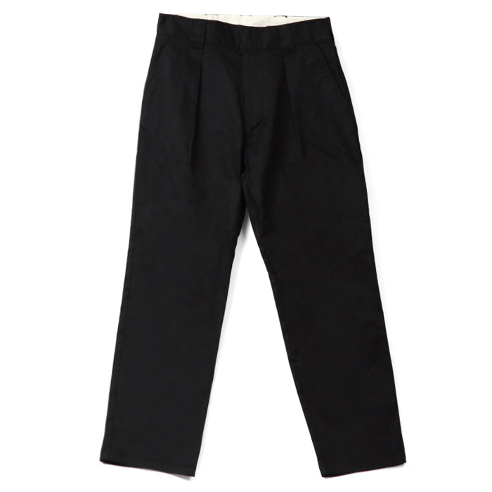 ONE TUCK TROUSERS STRETCH PANTS