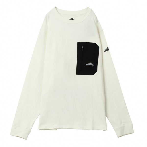 "L/S BACK POCKET TEE ""Superior"""