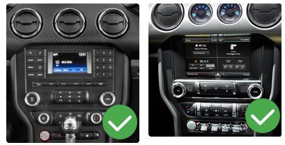 modèles compatibles Ford Mustang