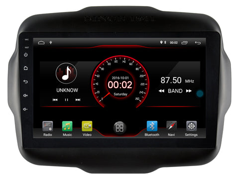 autoradio gps jeep renegade