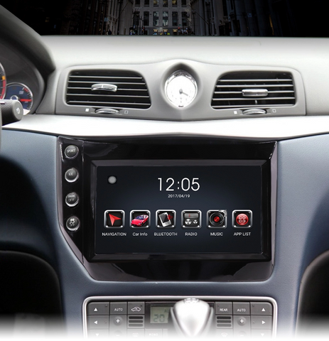 autoradio maserati compatible carplay
