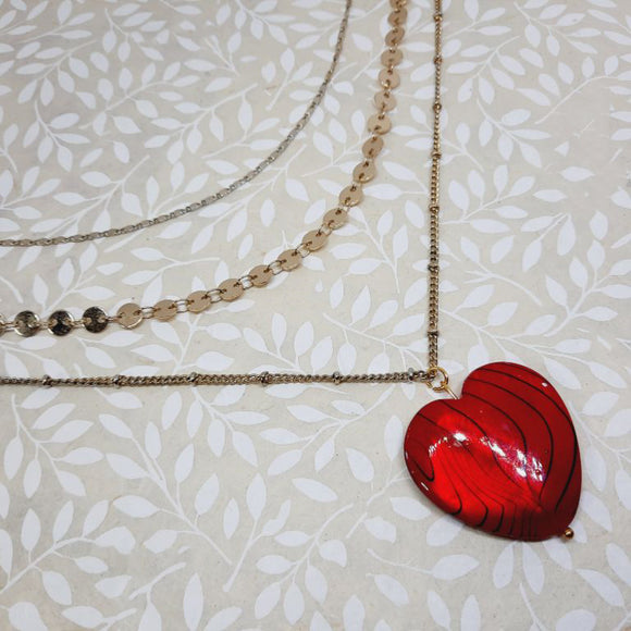 Triple Love Necklace