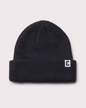 Icon Wool Beanie - Black