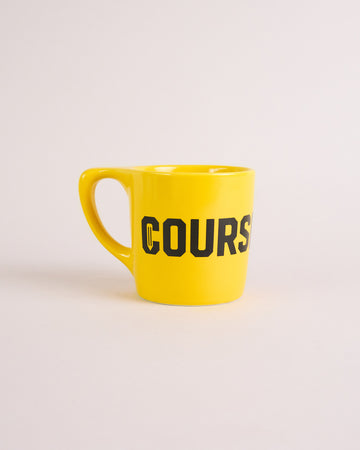 Logo Mug 10 oz. - Yellow